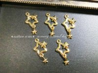 swaying star charm(5個入)